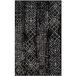 Safavieh Adirondack Carlie Black / Silver 2 ft. 6 inch x 4 ft. Indoor Area Rug