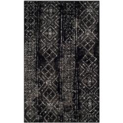 Safavieh Adirondack Carlie Black / Silver 3 ft. x 5 ft. Indoor Area Rug