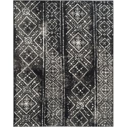 Safavieh Adirondack Carlie Black / Silver 8 ft. x 10 ft. Indoor Area Rug