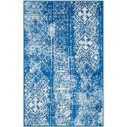Safavieh Adirondack Carlie Silver / Blue 2 ft. 6 inch x 4 ft. Indoor Area Rug