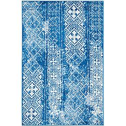 Safavieh Adirondack Carlie Silver / Blue 6 ft. x 9 ft. Indoor Area Rug