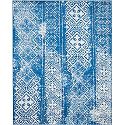 Safavieh Adirondack Carlie Silver / Blue 8 ft. x 10 ft. Indoor Area Rug