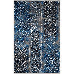 Safavieh Adirondack Carlie Silver / Multi 2 ft. 6 inch x 4 ft. Indoor Area Rug