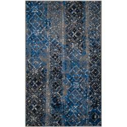 Safavieh Carpette d'intérieur, 3 pi x 5 pi, style traditionnel, rectangulaire, multicolore Adirondack
