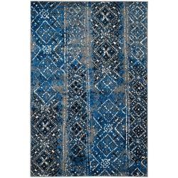 Safavieh Carpette d'intérieur, 4 pi x 6 pi, style traditionnel, rectangulaire, multicolore Adirondack
