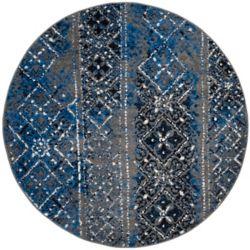 Safavieh Carpette d'intérieur, 4 pi x 4 pi, style traditionnel, ronde, multicolore Adirondack