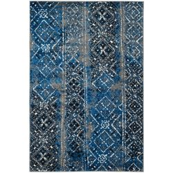 Safavieh Adirondack Carlie Silver / Multi 5 ft. 1 inch x 7 ft. 6 inch Indoor Area Rug