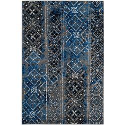 Safavieh Adirondack Carlie Silver / Multi 6 ft. x 9 ft. Indoor Area Rug