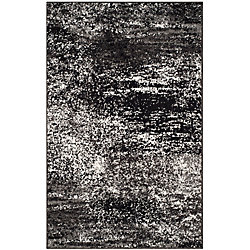 Safavieh Adirondack Lance Silver / Black 2 ft. 6 inch x 4 ft. Indoor Area Rug