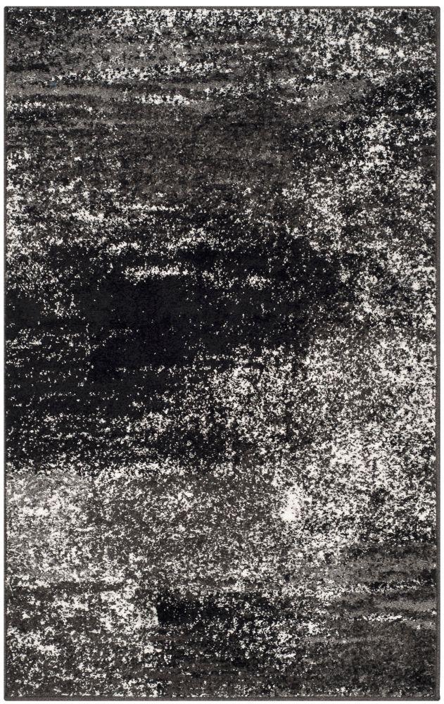 Safavieh Adirondack Lance Silver / Black 3 ft. x 5 ft. Indoor Area Rug