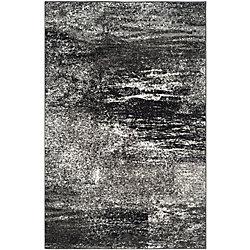 Safavieh Adirondack Lance Silver / Black 4 ft. x 6 ft. Indoor Area Rug