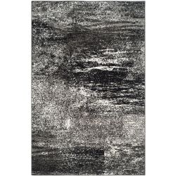 Safavieh Adirondack Lance Silver / Black 5 ft. 1 inch x 7 ft. 6 inch Indoor Area Rug