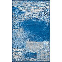 Safavieh Adirondack Lance Silver / Blue 2 ft. 6 inch x 4 ft. Indoor Area Rug