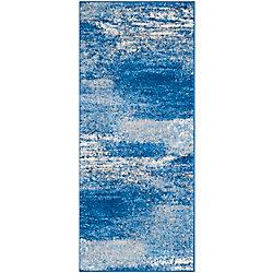 Safavieh Adirondack Lance Silver / Blue 2 ft. 6 inch x 6 ft. Indoor Runner