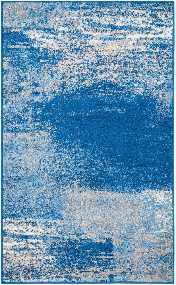 Safavieh Adirondack Lance Silver / Blue 3 ft. x 5 ft. Indoor Area Rug