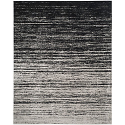 Safavieh Adirondack Brian Silver / Black 8 ft. x 10 ft. Indoor Area Rug