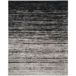 Safavieh Adirondack Brian Silver / Black 8 ft. x 10 ft. Indoor Area Rug