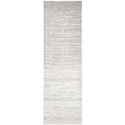 Safavieh Adirondack Brian Ivory / Silver 2 ft. 6 inch x 16 ft. Indoor Runner