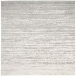 Safavieh Adirondack Brian Ivory / Silver 6 ft. x 6 ft. Indoor Square Area Rug