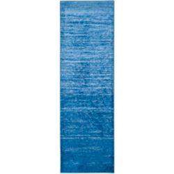 Safavieh Adirondack Brian Light Blue / Dark Blue 2 ft. 6 inch x 14 ft. Indoor Runner