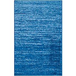 Safavieh Adirondack Brian Light Blue / Dark Blue 2 ft. 6 inch x 4 ft. Indoor Area Rug