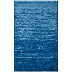 Safavieh Adirondack Brian Light Blue / Dark Blue 3 ft. x 5 ft. Indoor Area Rug