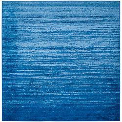 Safavieh Adirondack Brian Light Blue / Dark Blue 6 ft. x 6 ft. Indoor Square Area Rug