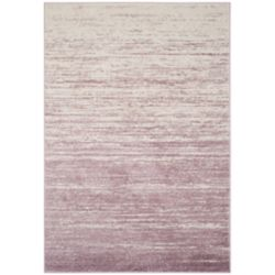 Safavieh Adirondack Brian Cream / Purple 5 ft. 1 inch x 7 ft. 6 inch Indoor Area Rug