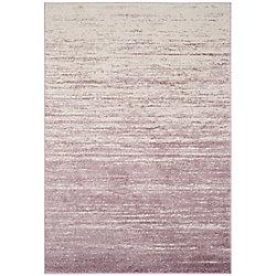 Safavieh Adirondack Brian Cream / Purple 6 ft. x 9 ft. Indoor Area Rug