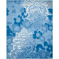 Safavieh Adirondack Roslyn Light Blue / Dark Blue 8 ft. x 10 ft. Indoor Area Rug