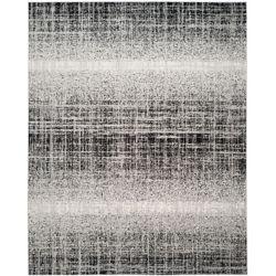 Safavieh Adirondack Janice Silver / Black 5 ft. 1 inch x 7 ft. 6 inch Indoor Area Rug