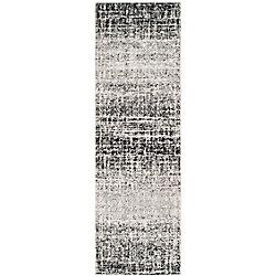 Safavieh Adirondack Janice Ivory / Black 2 ft. 6 inch x 22 ft. Indoor Runner
