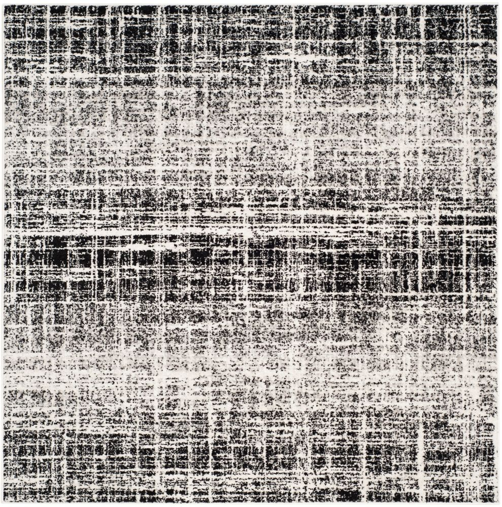 Safavieh Adirondack Janice Ivory / Black 4 ft. x 4 ft. Indoor Square Area Rug