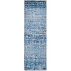 Safavieh Adirondack Janice Blue / Silver 2 ft. 6 inch x 18 ft. Indoor Runner