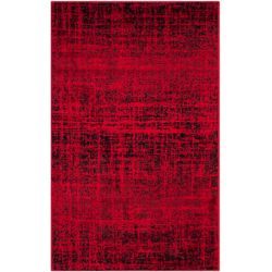 Safavieh Adirondack Janice Red / Black 3 ft. x 5 ft. Indoor Area Rug