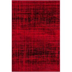 Safavieh Adirondack Janice Red / Black 4 ft. x 6 ft. Indoor Area Rug
