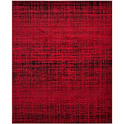 Safavieh Adirondack Janice Red / Black 8 ft. x 10 ft. Indoor Area Rug