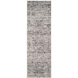 Safavieh Adirondack Leonard Black / Silver 2 ft. 6 inch x 16 ft. Indoor Runner