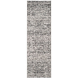 Safavieh Adirondack Leonard Black / Silver 2 ft. 6 inch x 8 ft. Indoor Runner