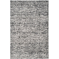 Safavieh Adirondack Leonard Black / Silver 4 ft. x 6 ft. Indoor Area Rug