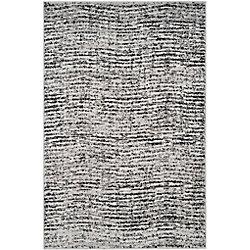 Safavieh Adirondack Leonard Black / Silver 5 ft. 1 inch x 7 ft. 6 inch Indoor Area Rug