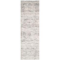 Safavieh Adirondack Leonard Ivory / Silver 2 ft. 6 inch x 16 ft. Indoor Runner