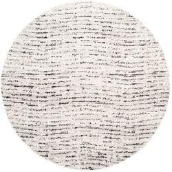 Safavieh Adirondack Leonard Ivory / Silver 4 ft. x 4 ft. Indoor Round Area Rug