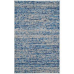 Safavieh Adirondack Leonard Blue / Silver 2 ft. 6 inch x 4 ft. Indoor Area Rug