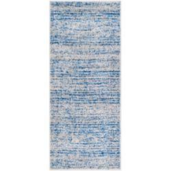 Safavieh Adirondack Leonard Blue / Silver 2 ft. 6 inch x 6 ft. Indoor Runner