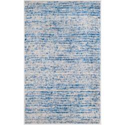 Safavieh Adirondack Leonard Blue / Silver 3 ft. x 5 ft. Indoor Area Rug