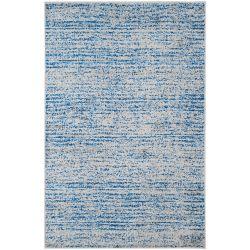 Safavieh Adirondack Leonard Blue / Silver 4 ft. x 6 ft. Indoor Area Rug