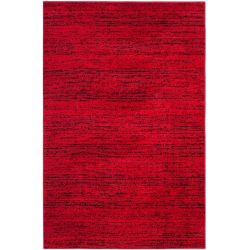 Safavieh Adirondack Leonard Red / Black 4 ft. x 6 ft. Indoor Area Rug