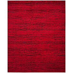 Safavieh Adirondack Leonard Red / Black 8 ft. x 10 ft. Indoor Area Rug