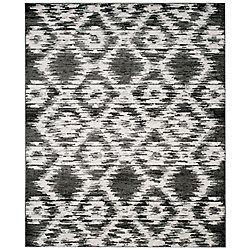 Safavieh Adirondack Sheryl Charcoal / Ivory 8 ft. x 10 ft. Indoor Area Rug